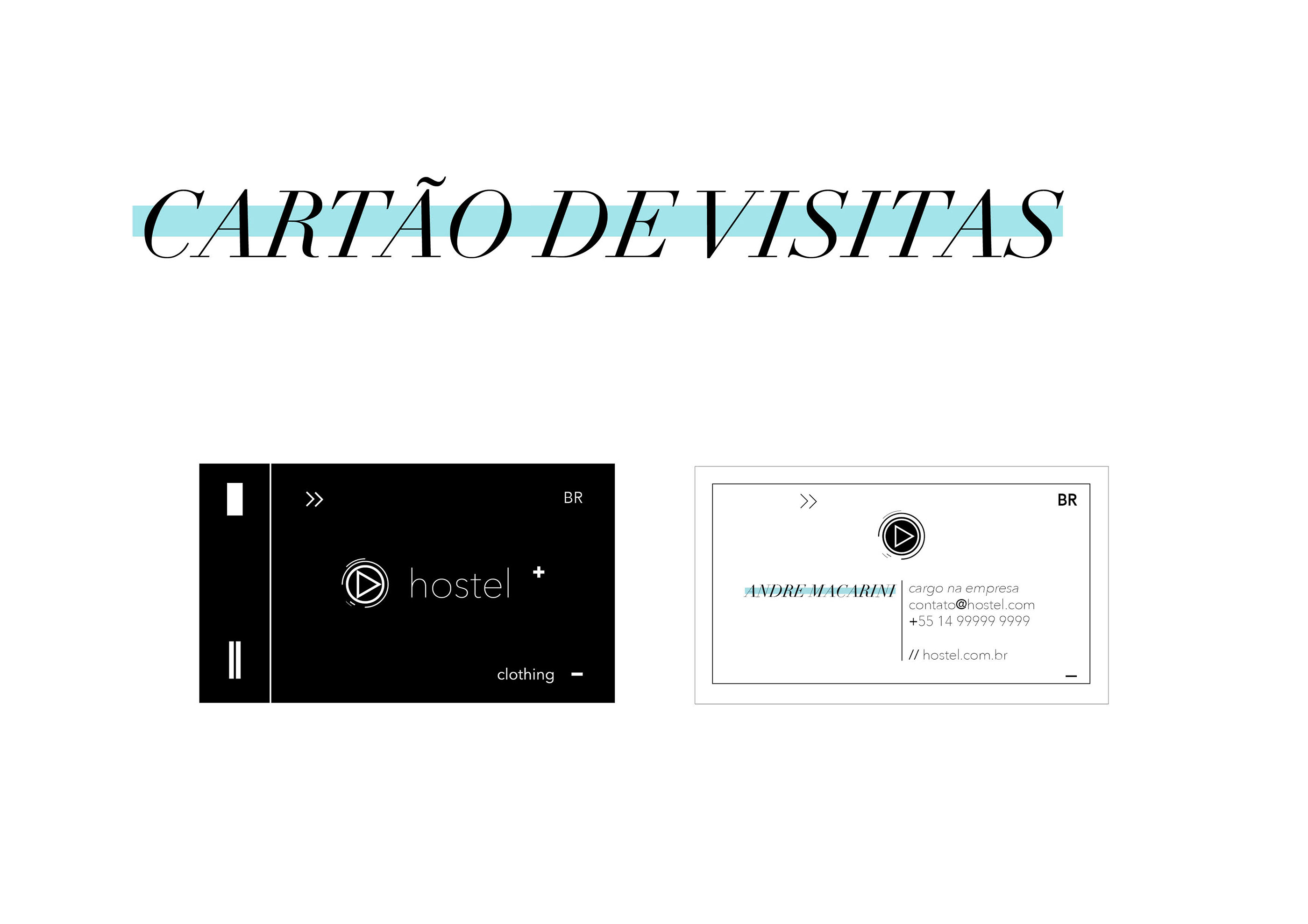 design editorial revista minimalista
